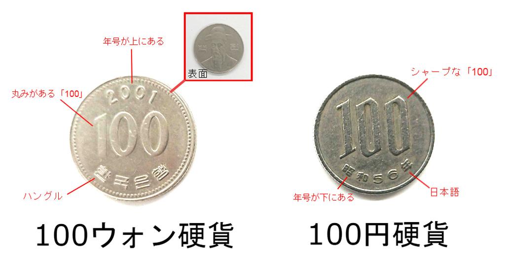100円硬貨比較